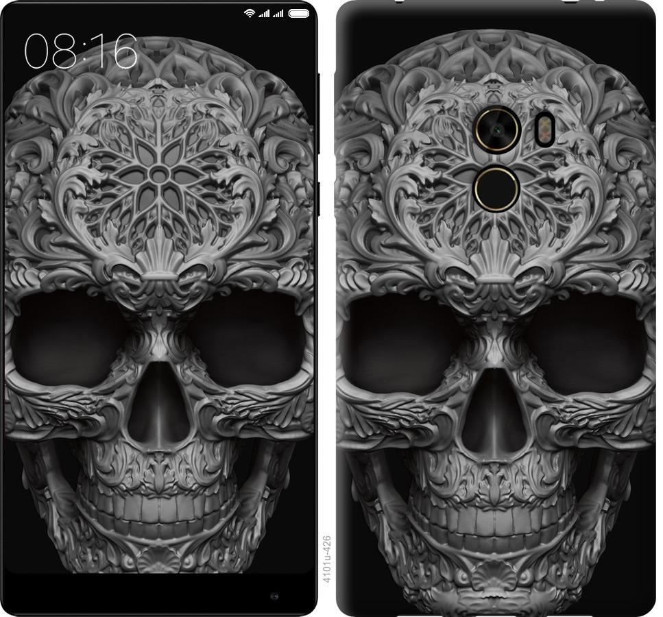 Чехол на Xiaomi Mi MiX skull-ornament