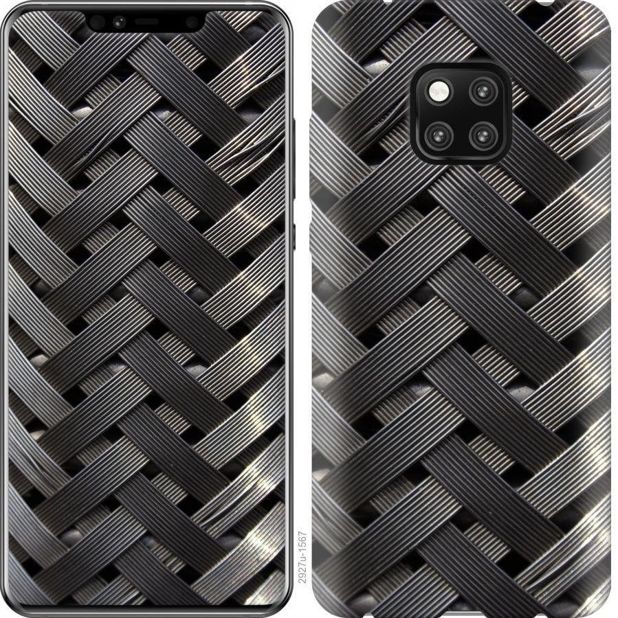 Чехол на Huawei Mate 20 Pro Металлические фоны