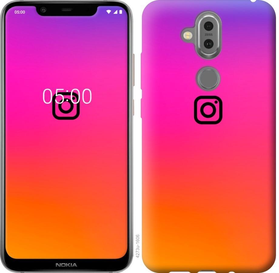 Чехол на Nokia 8.1 Instagram