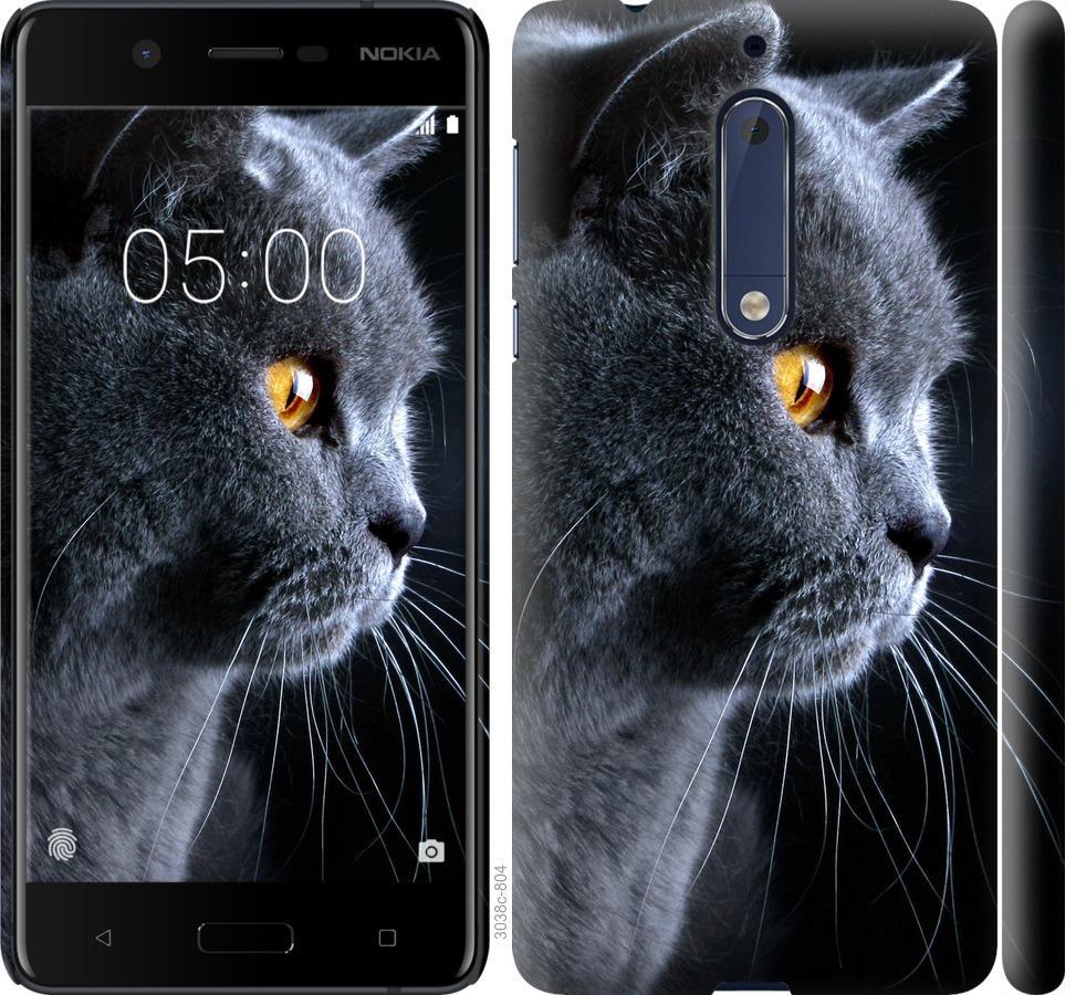 Чехол на Nokia 5 Красивый кот