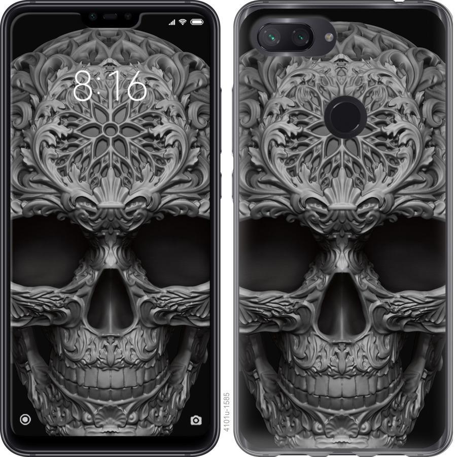 Чехол на Xiaomi Mi 8 Lite skull-ornament