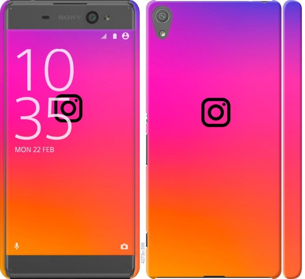 Чехол на Sony Xperia XA F3112 Instagram