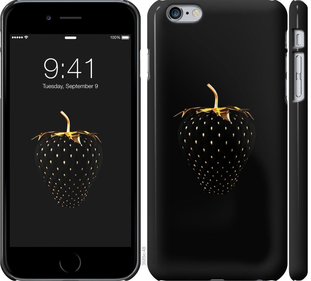 Чохол на iPhone 6 Plus  Чорна полуниця