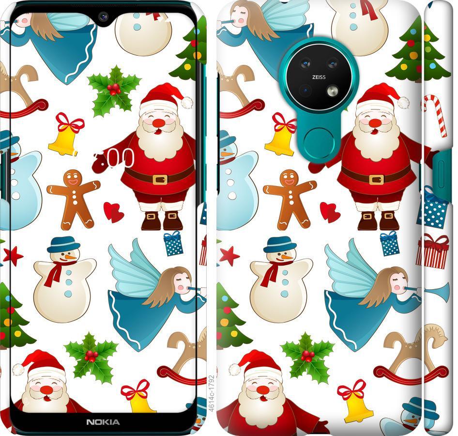 Чехол на Nokia 7.2 Новогодний 1