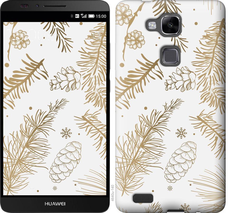 Чехол на Huawei Ascend Mate 7 Зимний