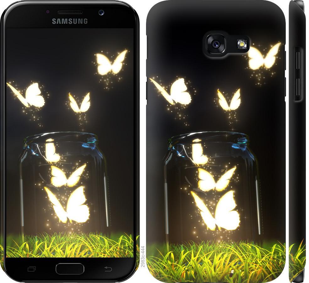 Чехол на Samsung Galaxy A5 (2017) Бабочки