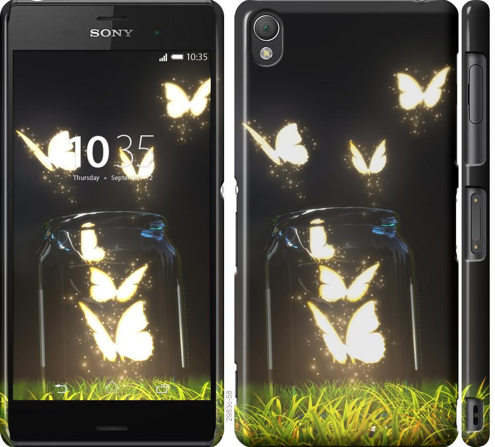 Чехол на Sony Xperia Z3 D6603 Бабочки