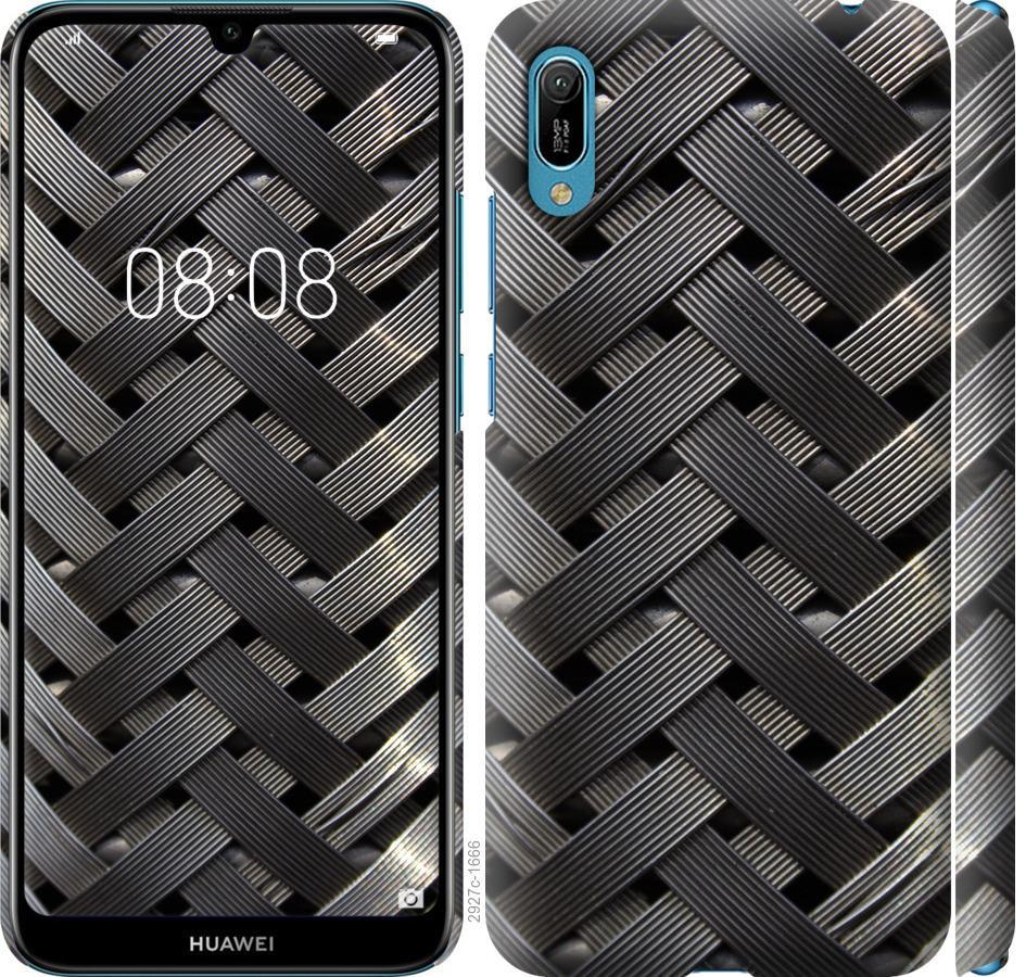 Чехол на Huawei Y6 2019 Металлические фоны