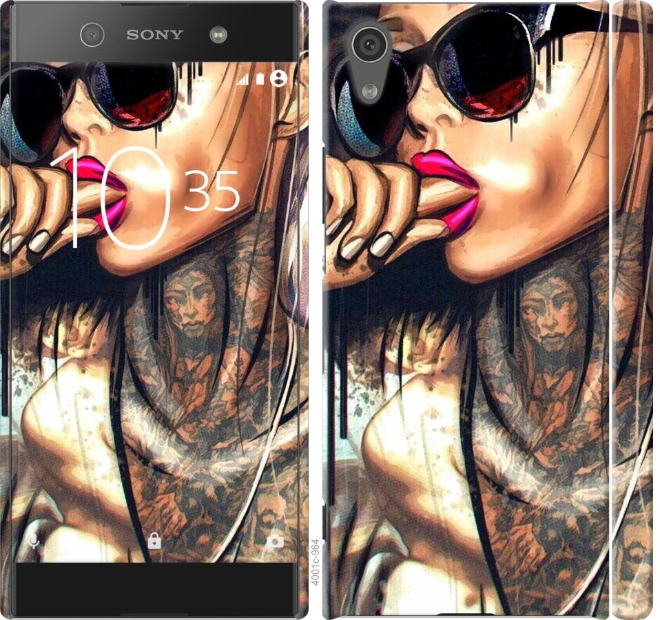 Чехол на Sony Xperia XA1 G3112 Девушка в тату
