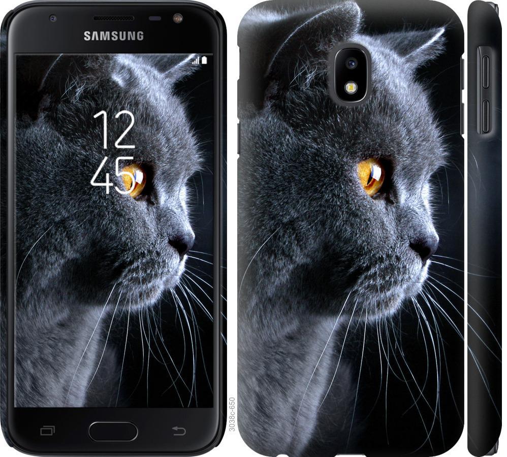 Чохол на Samsung Galaxy J3 (2017) Гарний кіт