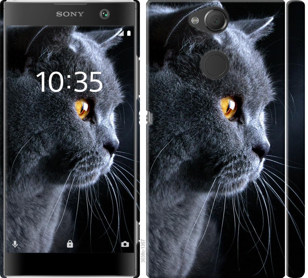Чехол на Sony Xperia XA2 H4113 Красивый кот