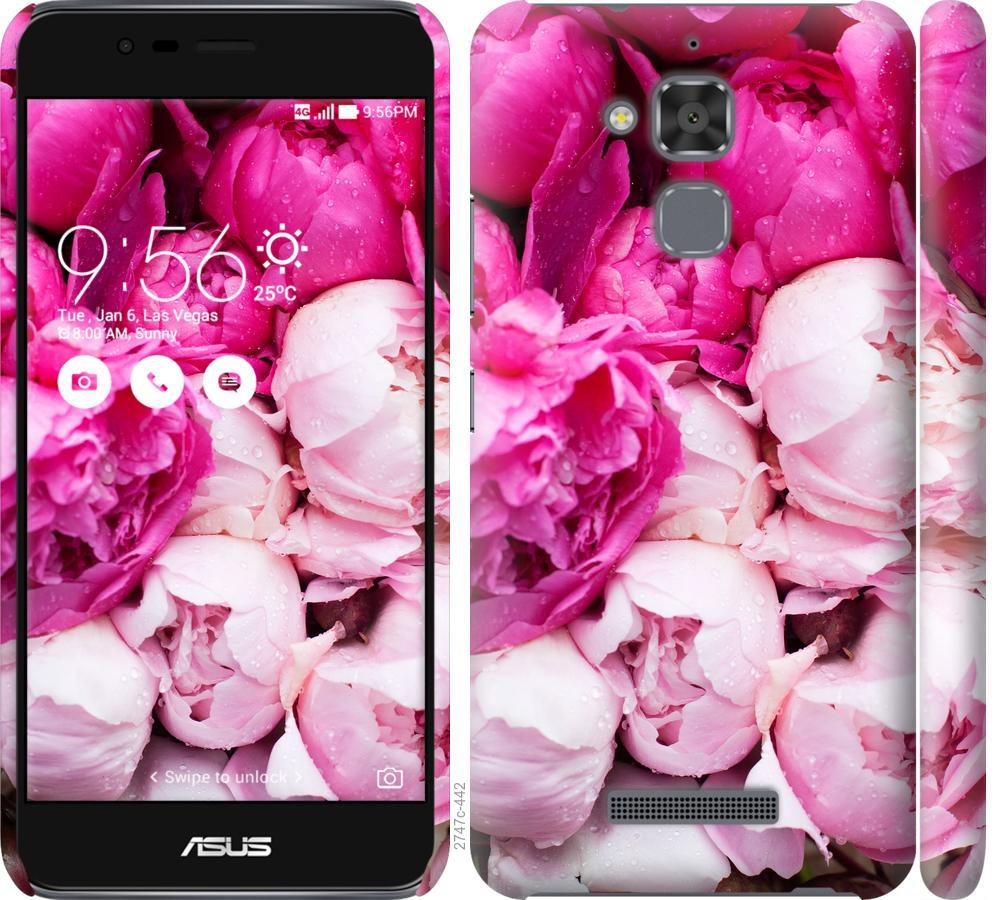 Чохол на Asus Zenfone 3 Max ZC520TL Рожеві півонії