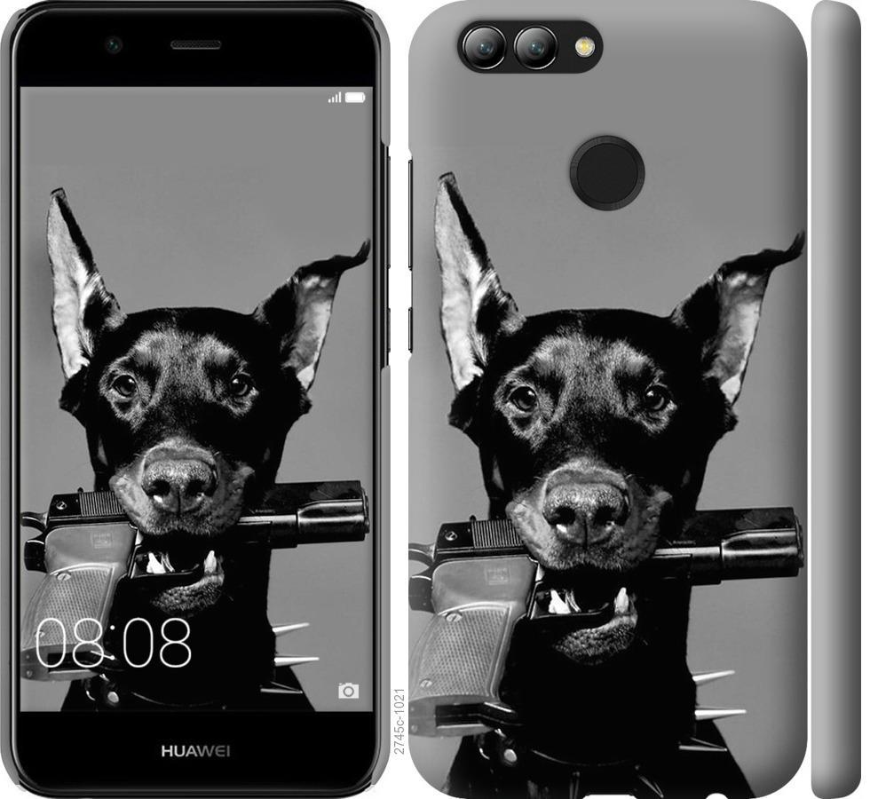 Чехол на Huawei Nova 2 Доберман