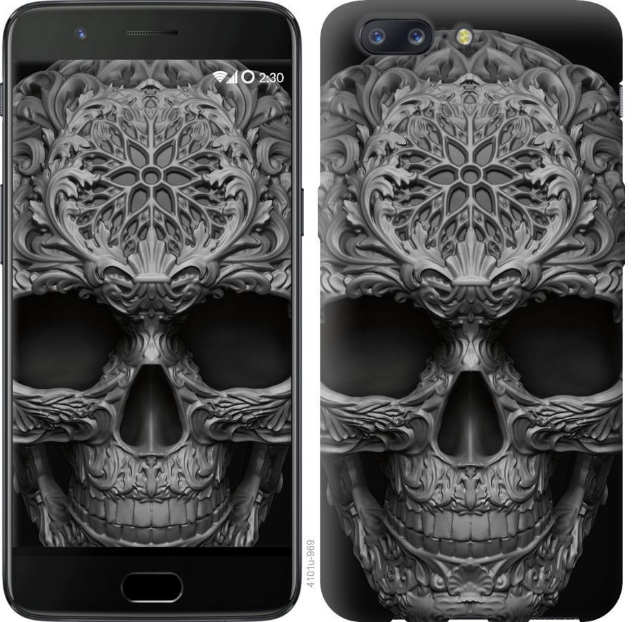 Чехол на OnePlus 5 skull-ornament