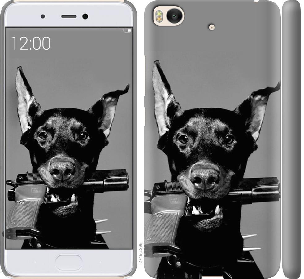 Чехол на Xiaomi Mi 5s Доберман