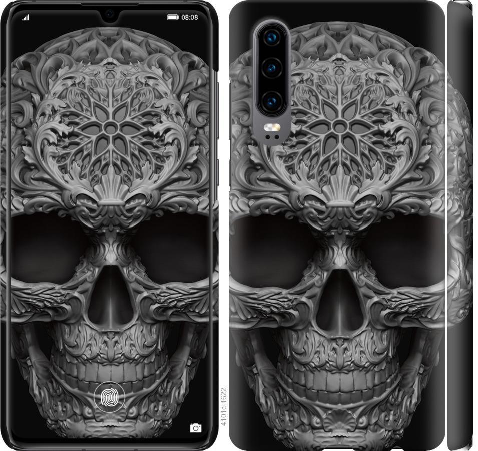 Чехол на Huawei P30 skull-ornament