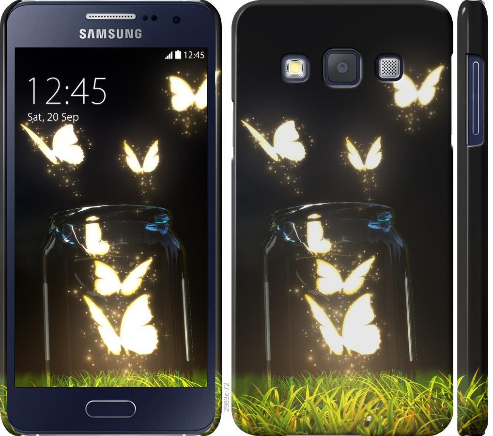 Чехол на Samsung Galaxy A3 A300H Бабочки