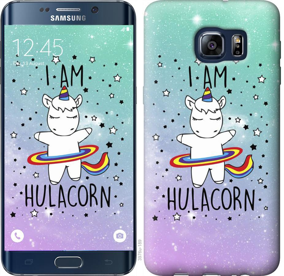 Чехол на Samsung Galaxy S6 Edge Plus G928 Im hulacorn