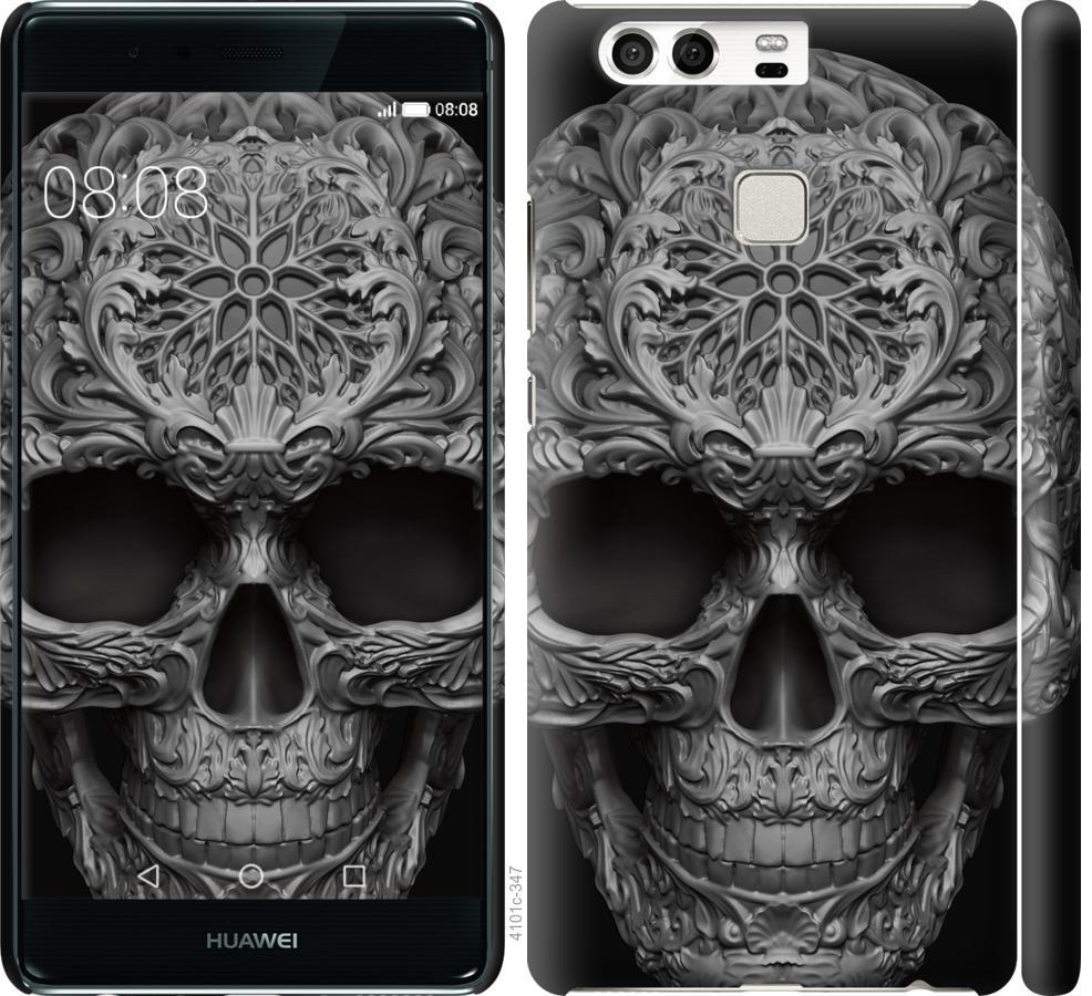 Чехол на Huawei P9 skull-ornament