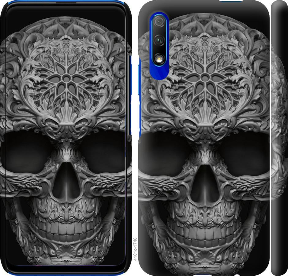 Чехол на Huawei P Smart Pro skull-ornament