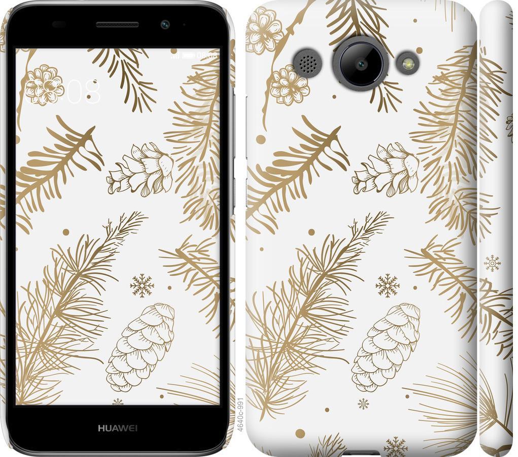 Чехол на Huawei Y3 2017 Зимний