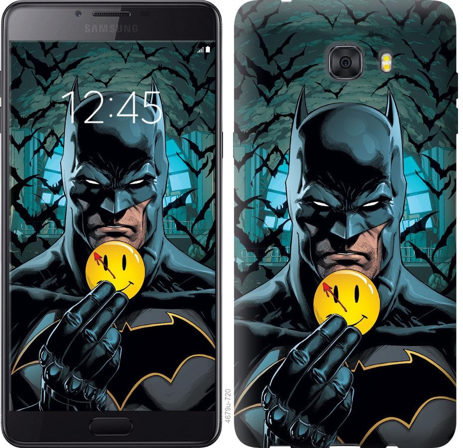 Чехол на Samsung Galaxy C9 Pro Бэтмен 2