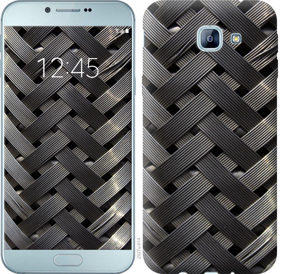 Чехол на Samsung Galaxy A8 (2016) A810 Металлические фоны