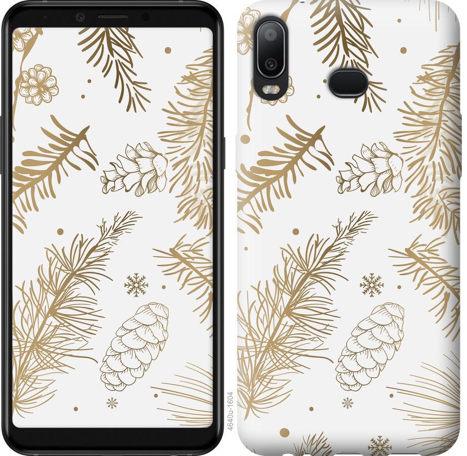 Чехол на Samsung Galaxy A6s Зимний