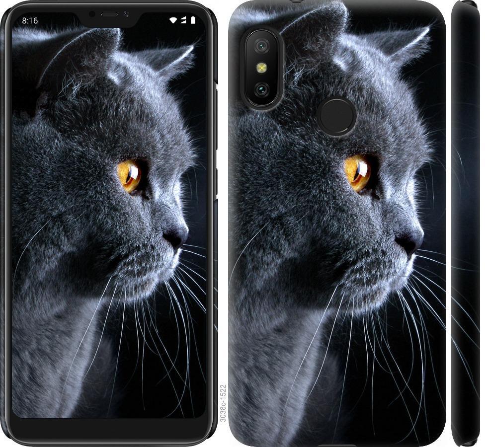 Чехол на Xiaomi Mi A2 Lite Красивый кот
