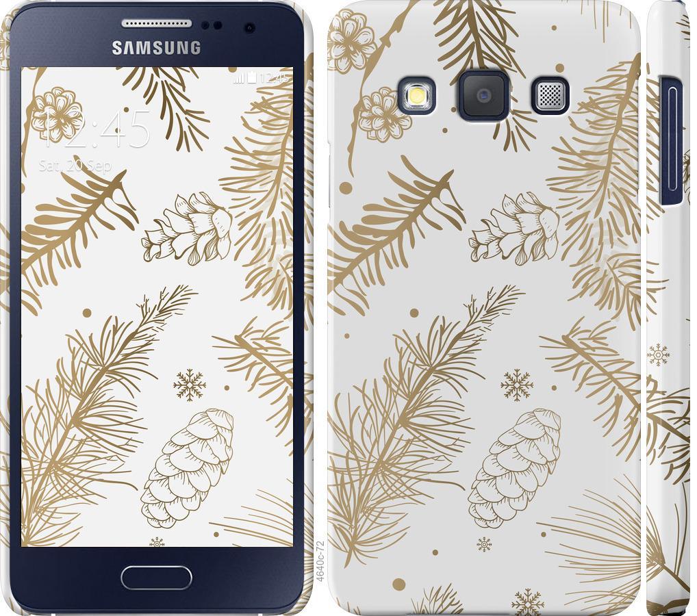 Чехол на Samsung Galaxy A3 A300H Зимний