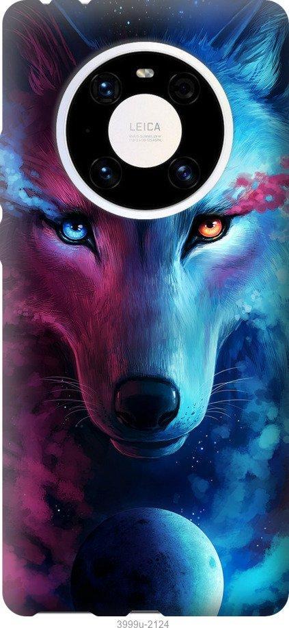 Чехол на Huawei Mate 40 Pro Арт-волк