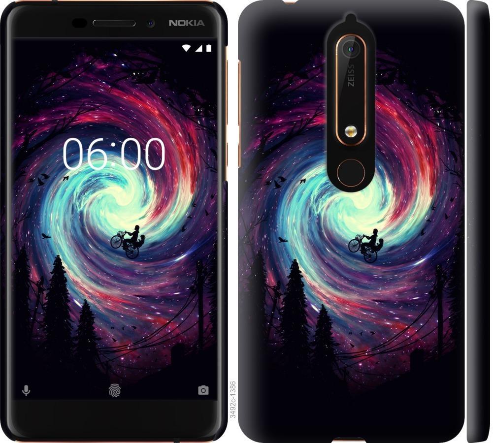 Чехол на Nokia 6.1 Навстречу приключениям