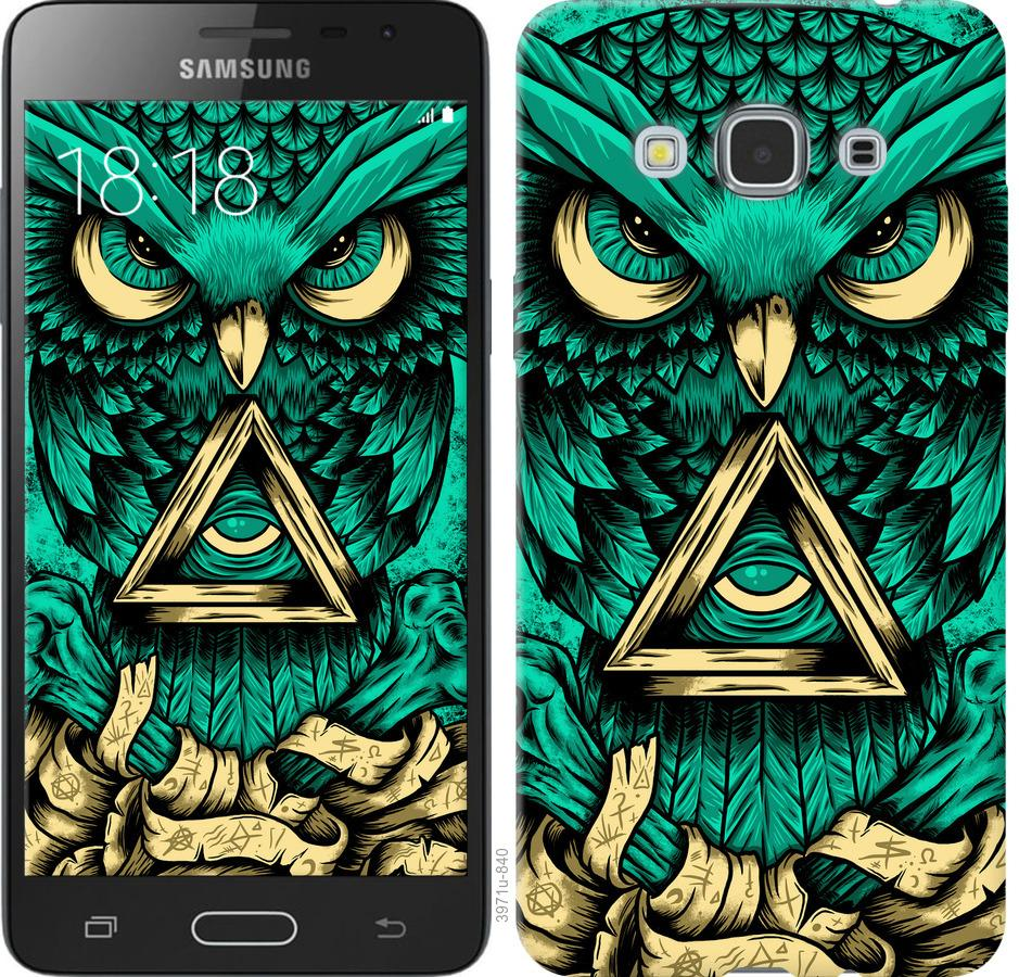 Чехол на Samsung Galaxy J3 Pro Сова Арт-тату