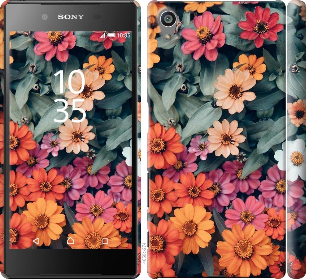 Чехол на Sony Xperia Z5 E6633 Beauty flowers