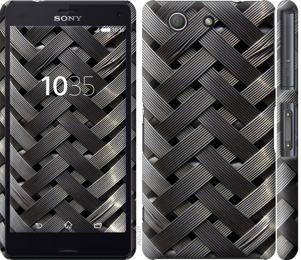 Чехол на Sony Xperia Z3 Compact D5803 Металлические фоны