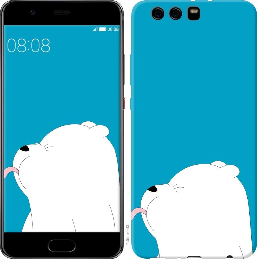 Чехол на Huawei P10 Plus Мишка 1