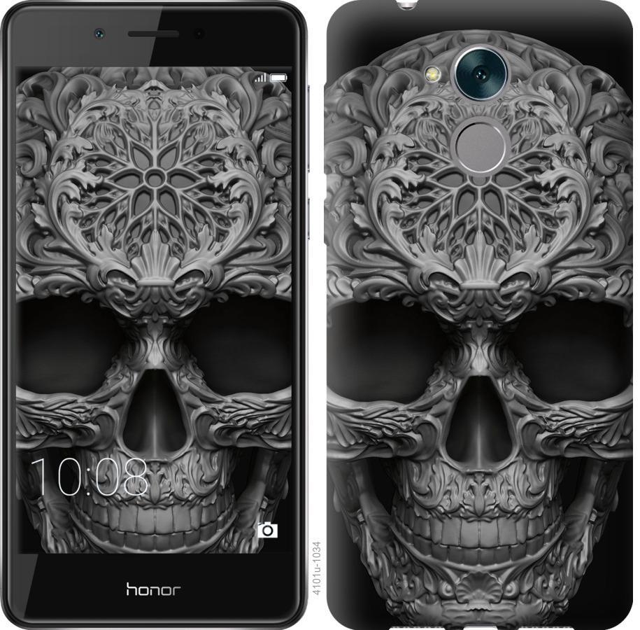 Чехол на Huawei Enjoy 6s skull-ornament