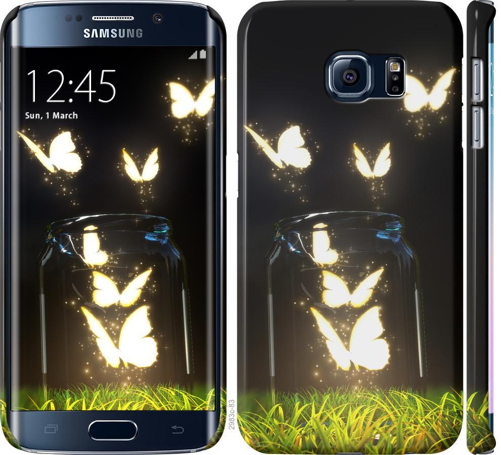 Чехол на Samsung Galaxy S6 Edge G925F Бабочки