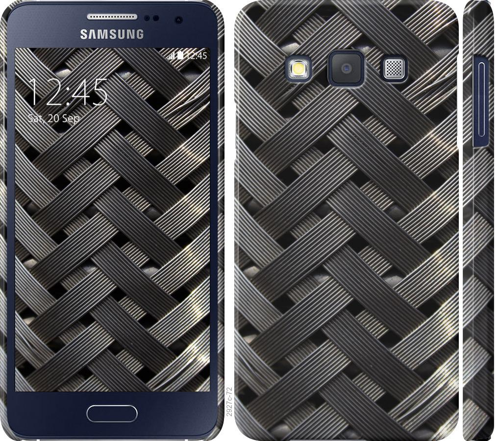 Чехол на Samsung Galaxy A3 A300H Металлические фоны