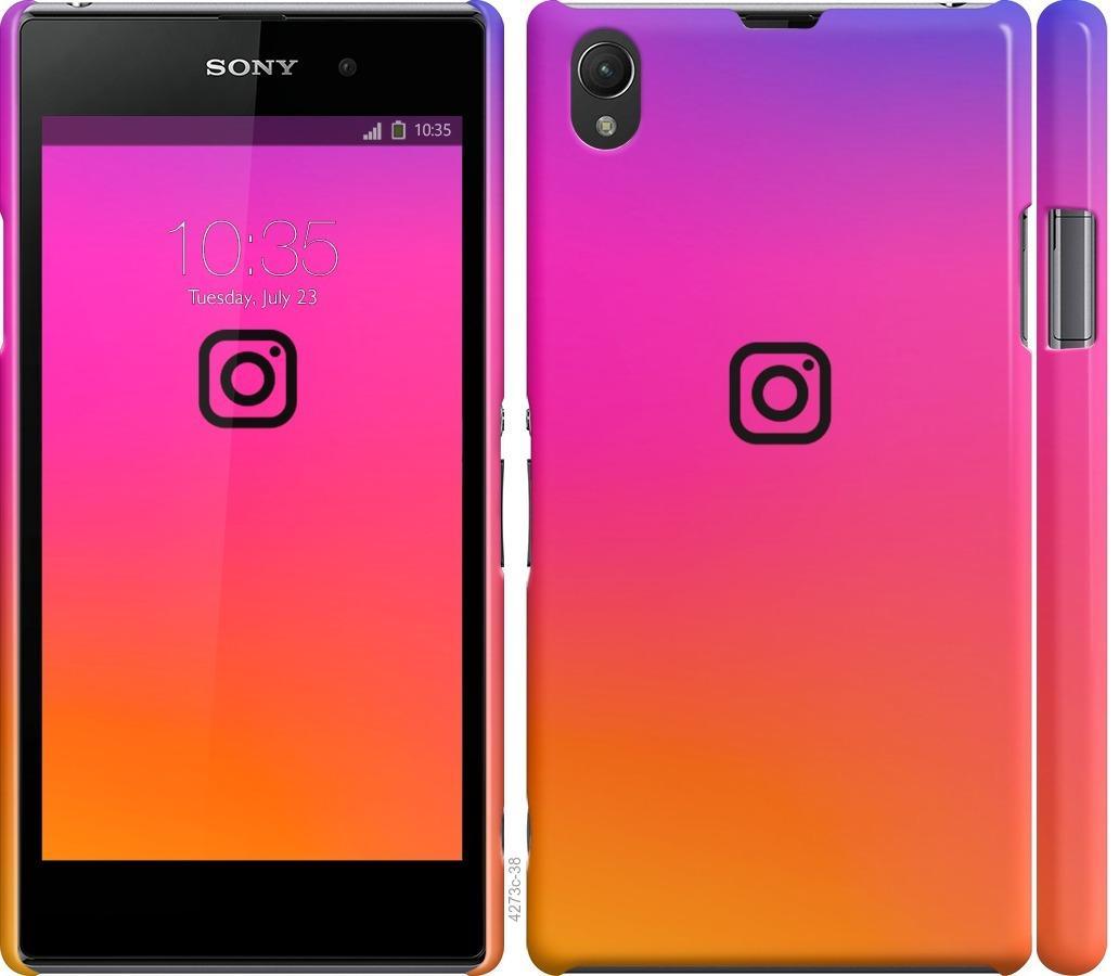 Чехол на Sony Xperia Z1 C6902 Instagram