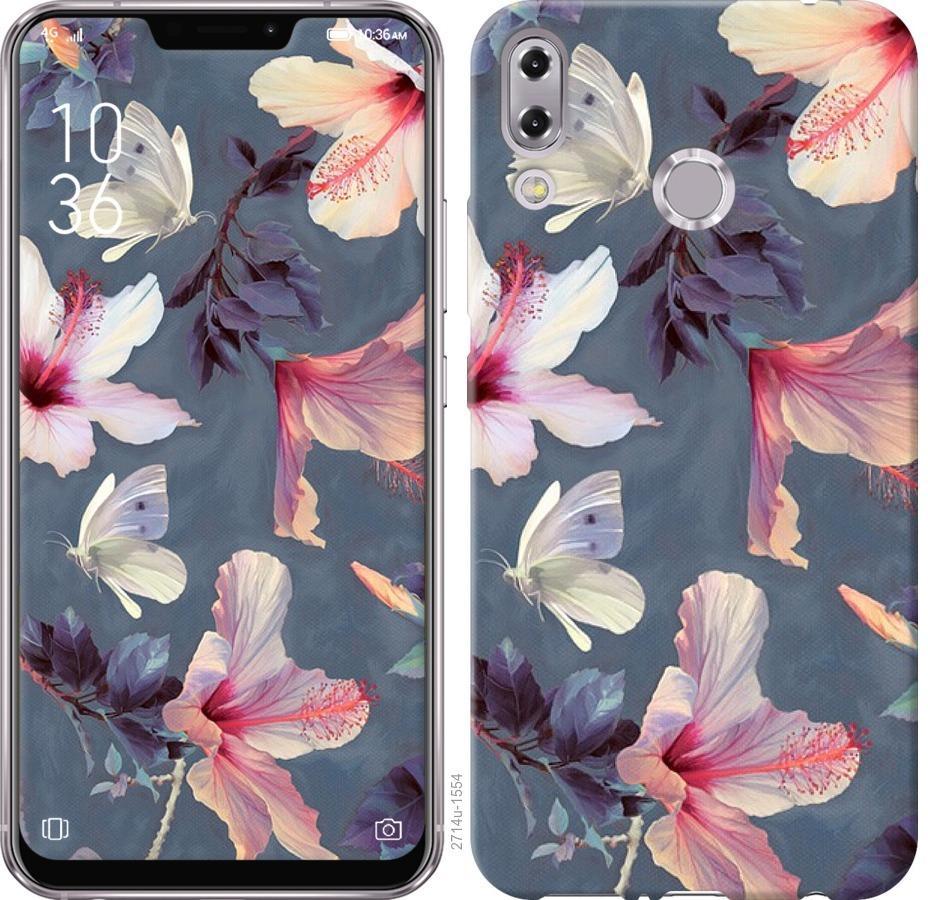 Чехол на Asus Zenfone 5 ZE620KL Нарисованные цветы