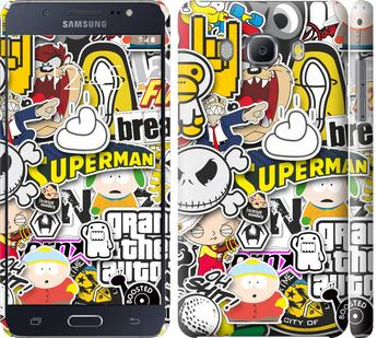 Чехол на Samsung Galaxy J5 (2016) J510H Popular logos