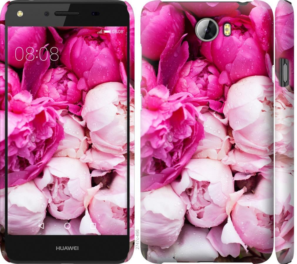 Чехол на Huawei Y5 II Розовые пионы