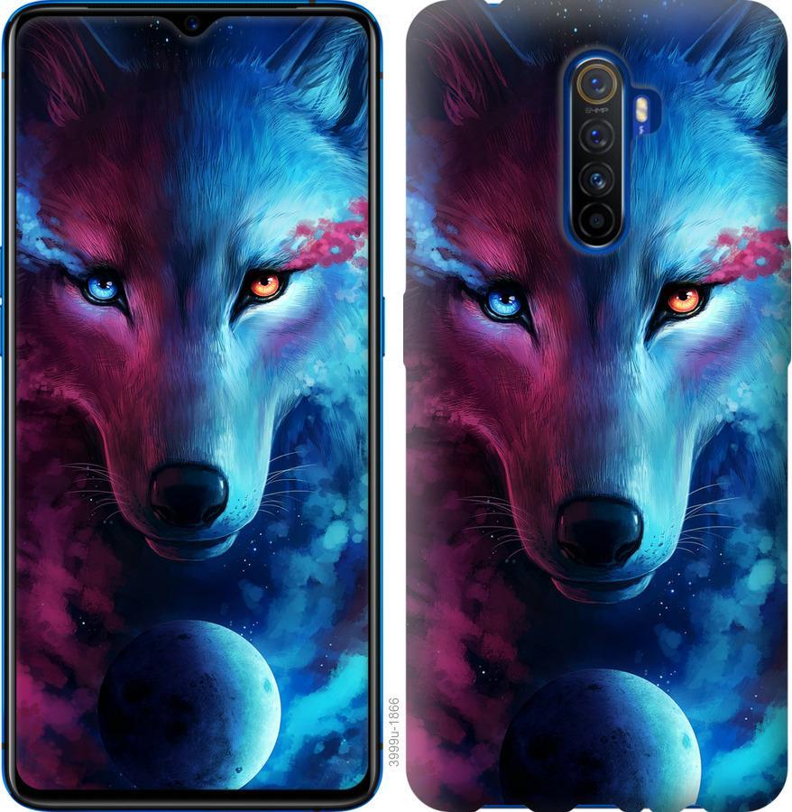 Чехол на Oppo Reno 2 Арт-волк