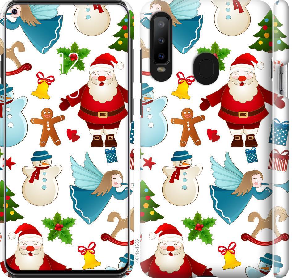 Чехол на Samsung Galaxy A8S Новогодний 1