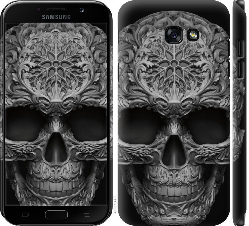 Чехол на Samsung Galaxy A7 (2017) skull-ornament