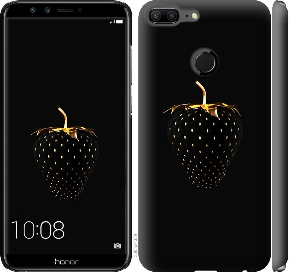 Чохол на Huawei Honor 9 Lite  Чорна полуниця