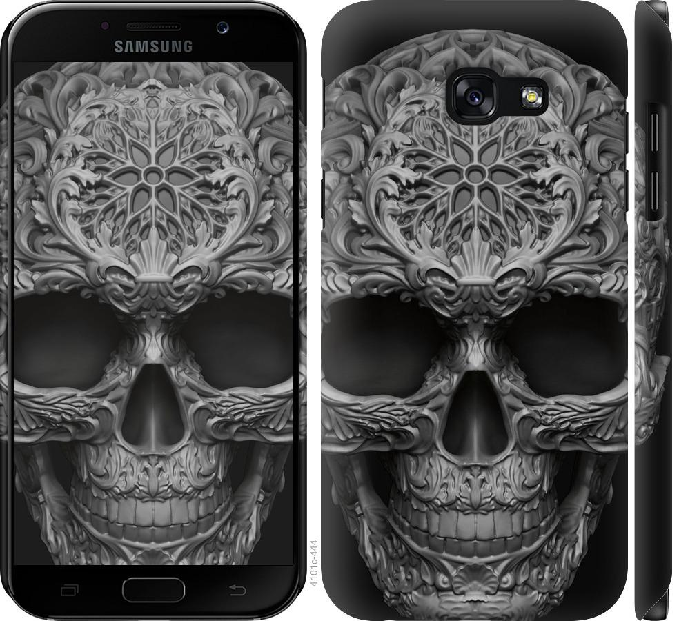 Чехол на Samsung Galaxy A5 (2017) skull-ornament
