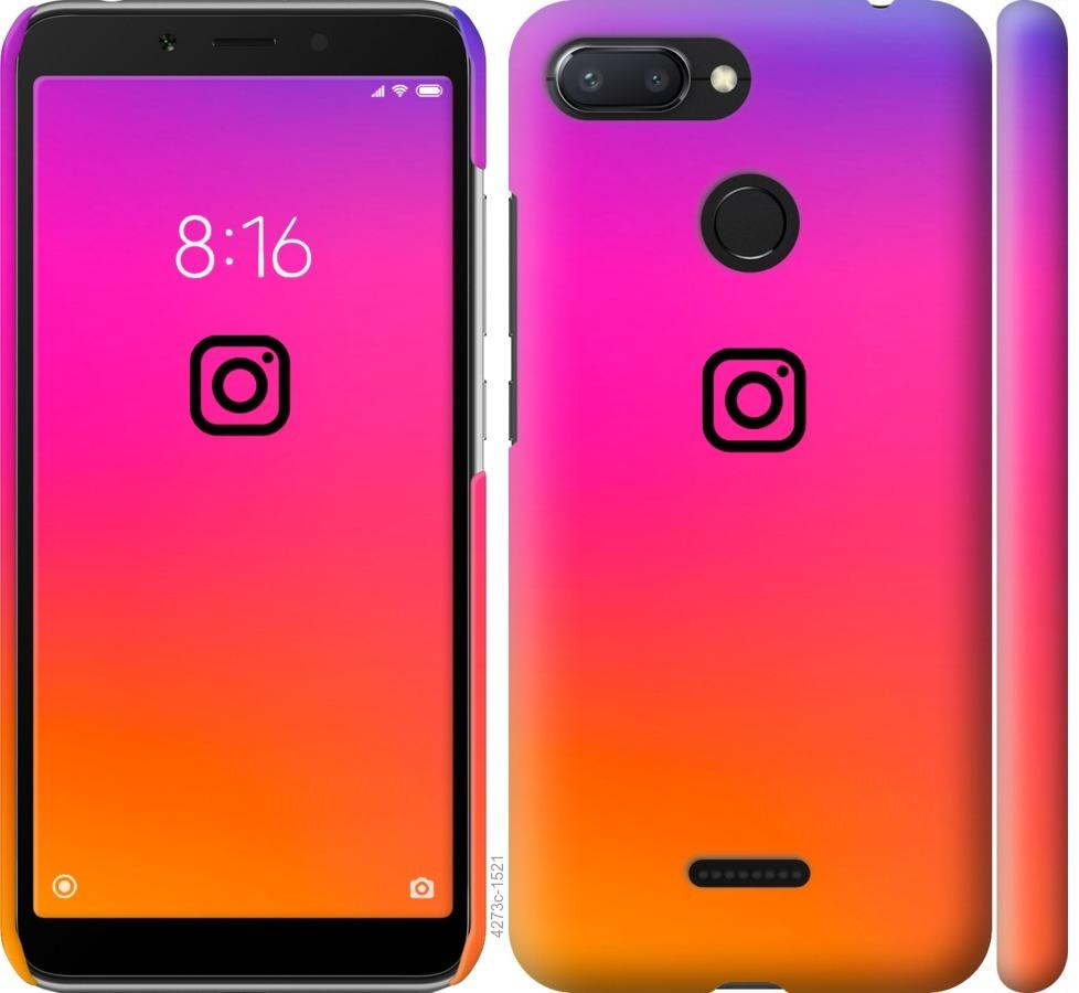 Чехол на Xiaomi Redmi 6 Instagram