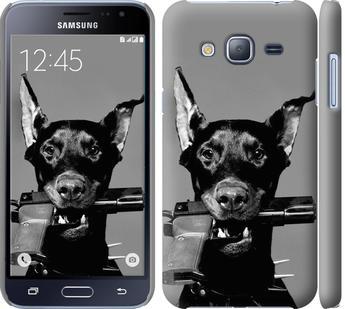 Чехол на Samsung Galaxy J3 Duos (2016) J320H Доберман